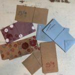 Karten - Lesezeichen – Geschenkanhänger -Geschenktüten